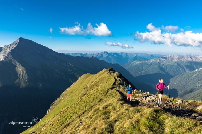 Nockberge Alpenverein OEAV.CZ Korutanské dálkové trasy