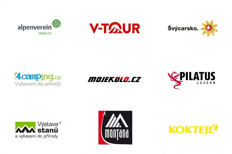 Alpenverein OEAV.CZ - fotosoutěž 2020 - loga partnerů