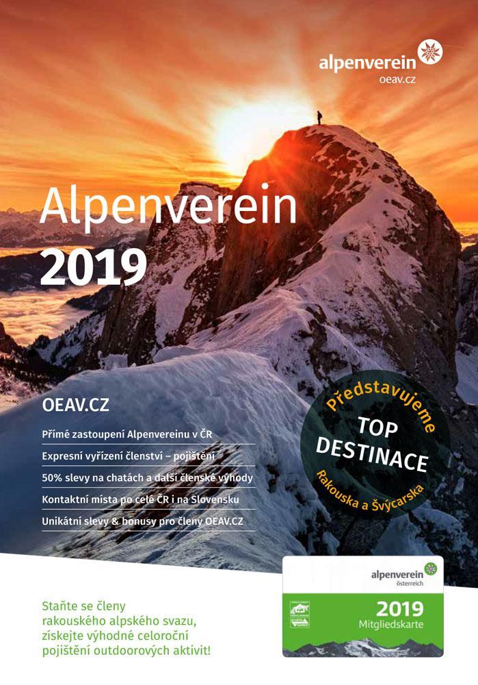 Alpenverein OEAV.SK ročenka 2019