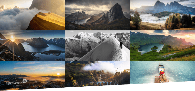 Alpenverein OEAV.CZ - fotosoutěž 2020