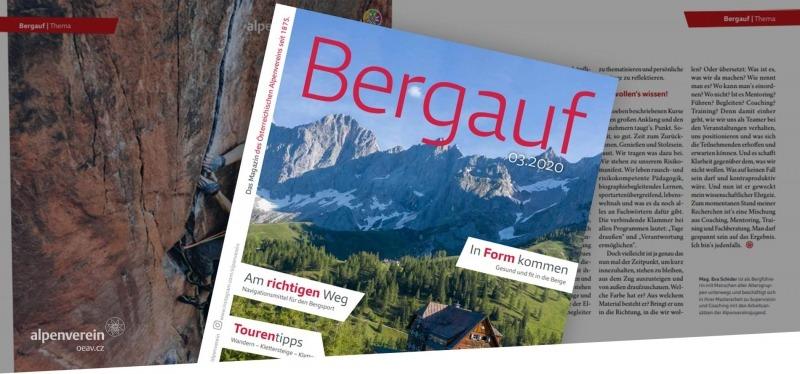 Alpenverein OEAV.CZ magazín Bergauf
