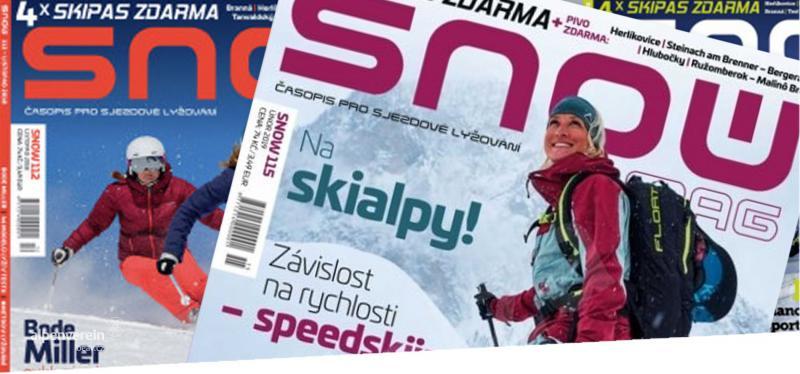 Alpenverein OEAV.SK časopis SNOW