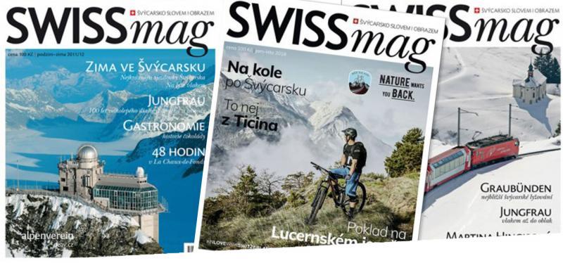 Alpenverein OEAV.CZ magazín swissmag